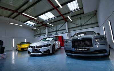 Ferrari, Rolls Royce, AMG and BMW.