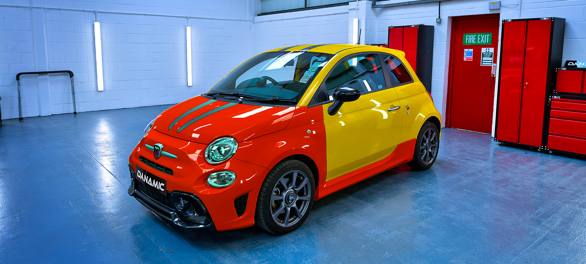 Abarth paint protection film