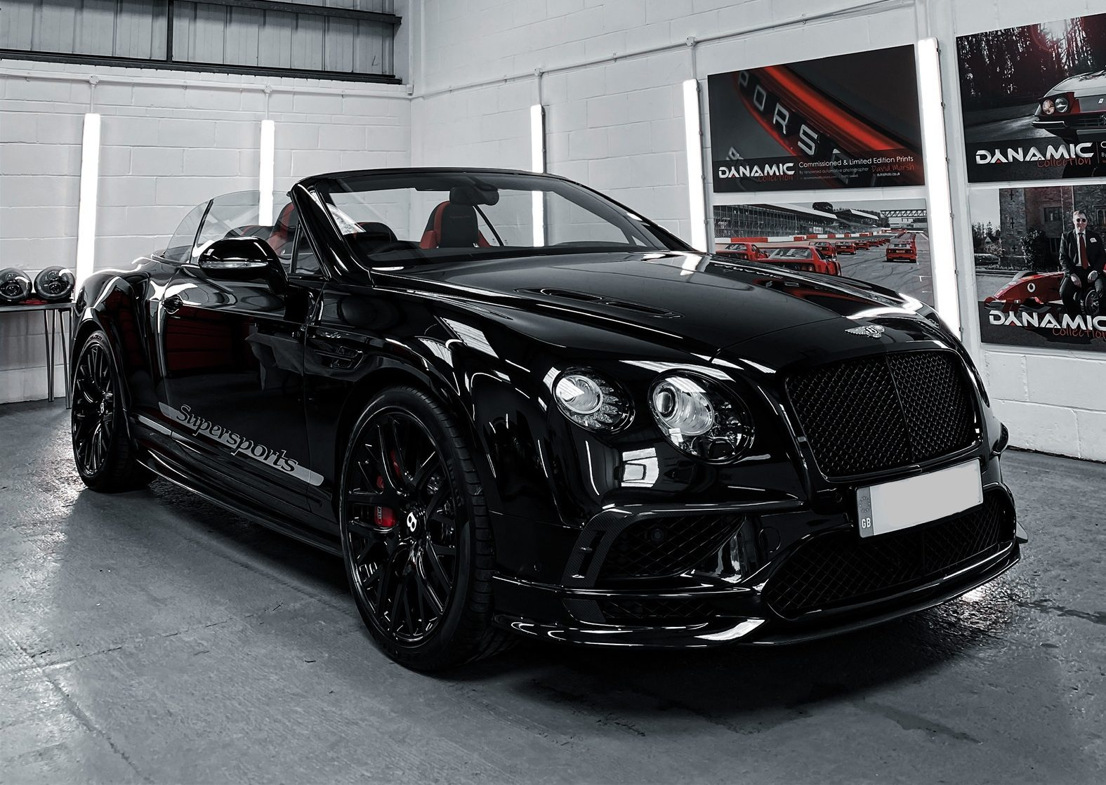 Bentley Continental for paint protection film